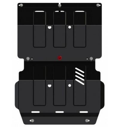 Защита картера и радиатора Mitsubishi Pajero Sport 14.2996