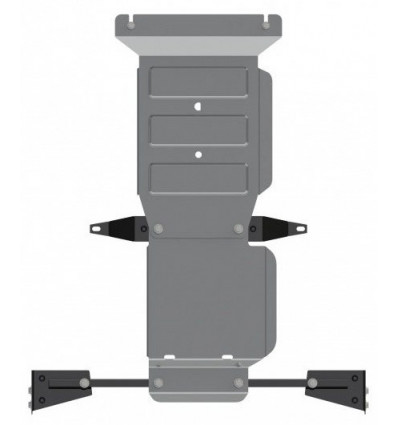 Защита КПП Mitsubishi Pajero Sport 14.2999