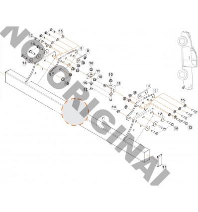 Фаркоп на Fiat Fullback E4201HC