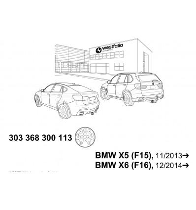 Электрика оригинальная на BMW X5/X6 303368300113