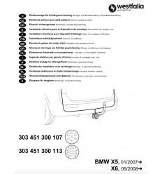 Электрика оригинальная на BMW X5/X6 303451300107