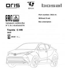 Фаркоп на Toyota C-HR 3021-A