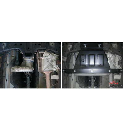 Защита РК Volkswagen Amarok 111.05857.1