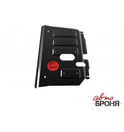 Защита картера и КПП Toyota Yaris 111.05707.1