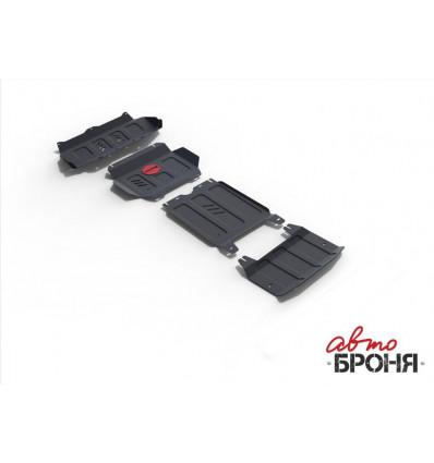 Защита картера, радиатора, КПП и РК Toyota Fortuner K111.05770.1