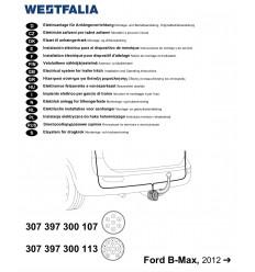 Электрика оригинальная на Ford B-MAX 307397300107