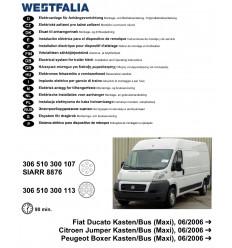 Электрика оригинальная на Fiat Ducato 306510300113