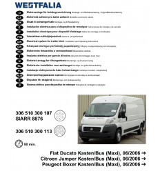 Электрика оригинальная на Peugeot Boxer 306510300113