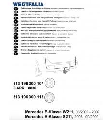 Электрика оригинальная на Mercedes E 313196300113