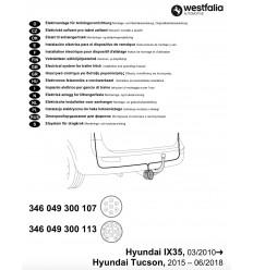 Электрика оригинальная на Hyundai ix35/Tucson 346049300113