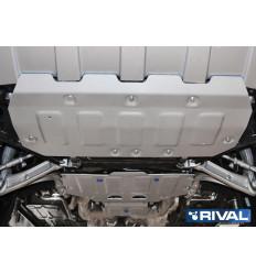 Защита картера, КПП и РК Bentley Bentayga K333.0401.1