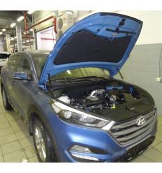 Амортизатор (упор) капота на Hyundai Tucson KU-HY-TS03-01