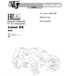 Фаркоп на Lexus GX 460 3096-ABP