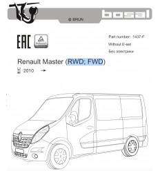 Фаркоп на Renault Master 1437-F