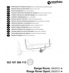 Электрика оригинальная на Land Rover Range Rover/Range Rover Sport 323107300113