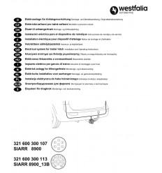 Электрика оригинальная на Skoda Octavia/Superb 321600300107