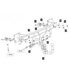 Фаркоп на Mazda CX-5 12.2157.32