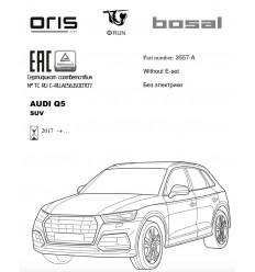 Фаркоп на Audi Q5 3557-A