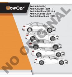 Фаркоп на Audi A4 Allroad E0403EV