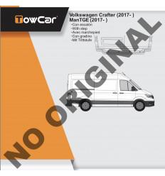 Фаркоп на Volkswagen Crafter E6715AC