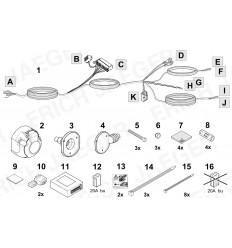 Электрика оригинальная на Volvo S90, V60, V90, XC90, XC60 737403
