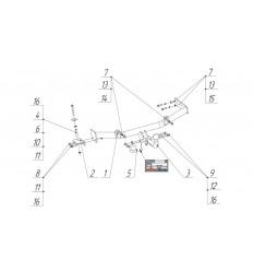 Фаркоп на Лада Гранта 2 1236-A