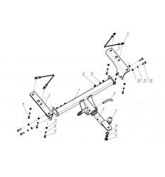 Фаркоп на Acura Rdx FA 0856-E