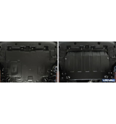 Защита картера и КПП Toyota C-HR 111.9524.1