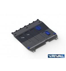 Защита картера и КПП Chevrolet Spark 111.1018.1