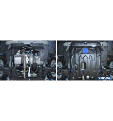 Защита картера и КПП Daewoo Gentra 111.1312.1