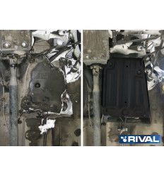 Защита топливного бака Renault Duster 111.4718.1
