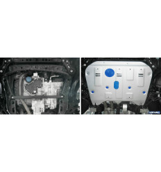Защита картера и КПП Cadillac XT5 333.0811.1