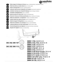 Электрика оригинальная на BMW 1/2/3/4/5/X1/X3 303352300113