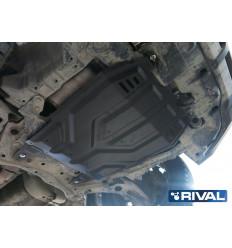 Защита картера и КПП Peugeot 4007 111.4037.1