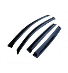 Дефлекторы боковых окон на Skoda Octavia S20513