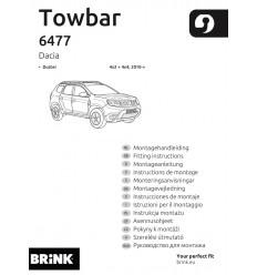 Фаркоп на Renault Duster 647700