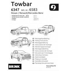 Фаркоп на Nissan NP 300 658300