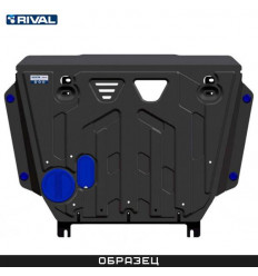 Защита картера, КПП и РК на Genesis G70 K111.2841.1