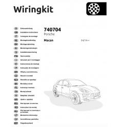 Электрика оригинальная на Porsche Macan 740704