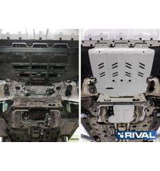 Защита картера, КПП и РК Maserati Levante K333.3603.1