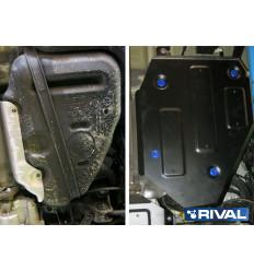 Защита топливного бака Hyundai Santa Fe 111.2833.1