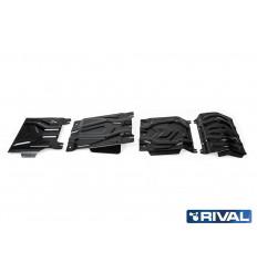 Защита картера, радиатора, КПП и РК Fiat Fullback K222.4052.1