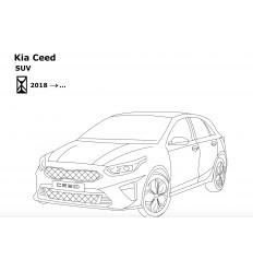 Фаркоп на Kia Ceed 6763-A