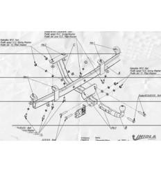 Фаркоп на Chevrolet Niva CH/013