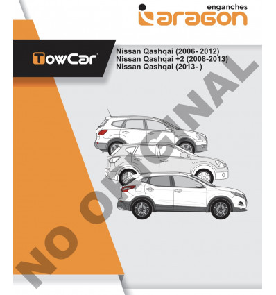 Фаркоп на Nissan Qashqai E4420BA