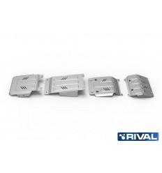 Защита радиатора, картера, КПП и РК Fiat Fullback K333.4046.3
