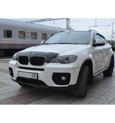 Дефлектор капота (отбойник) BMW X6 SBMWX50712S