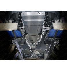 Защита картера, КПП и топливного бака Porsche Cayenne ZKTCC00400К