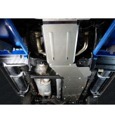 Защита картера, КПП, РК, радиатора и топливного бака Cadillac Escalade ZKTCC00201K