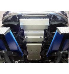 Защита картера, КПП, РК, радиатора и топливного бака Fiat Fullback ZKTCC00225K